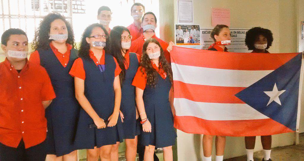 In Puerto Rico, Students Go On Strike to Stop Teacher Relocations