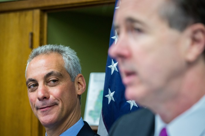 ct-rahm-emanuel-forrest-claypool-private-schools-20160505
