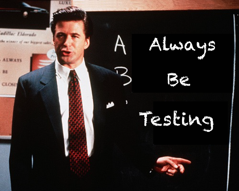 Always Be Testing – The Sales Pitch for Corporate Education Reform