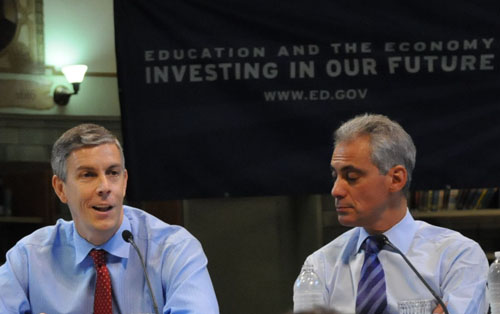 Arne Duncan Designed Rahm Emanuel's Latest Attack on Poor Students of Color