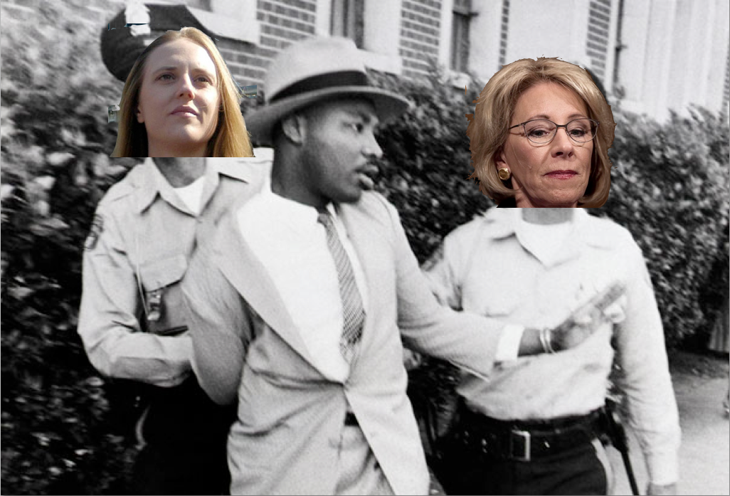 Dept of Ed Hires Anti-Civil Rights Crusader to Protect Student's Nonexistent Civil Rights